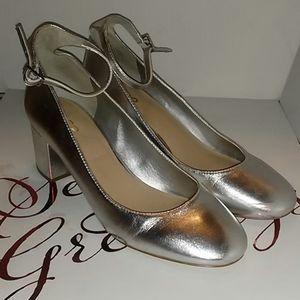 ALDO Clarisse block heel sz 8